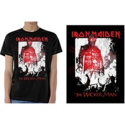 Iron Maiden - The Wicker Man Smoke Men's Medium T-Shirt - Black