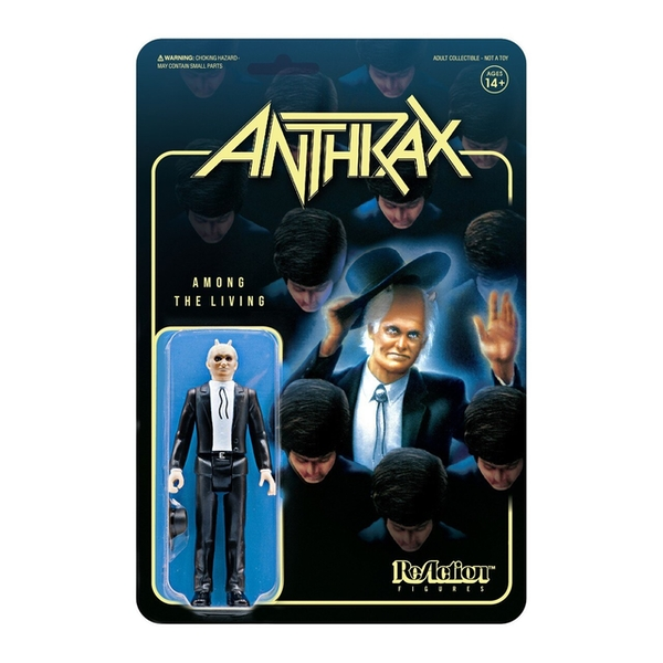 Anthrax Preacher Among The Living ReAction Figure