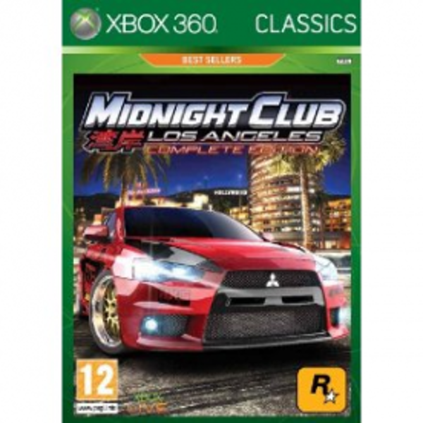 Midnight Club Los Angeles Complete Edition Game Xbox 360