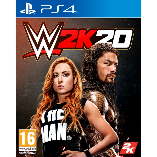 WWE 2K20 PS4 Game - Image 1