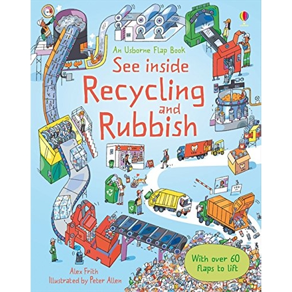 See Inside Rubbish and Recycling Knights and Castles 2010 Hardback