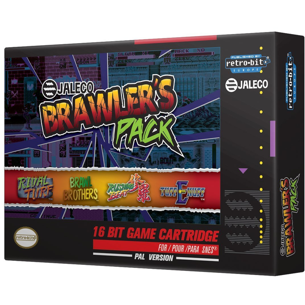 Jaleco Brawlers Pack [Retro-Bit] Nintendo SNES Game