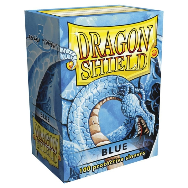 Dragon Shield Standard Blue Card Sleeves - 100 Sleeves