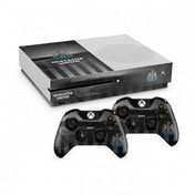 Official Newcastle United FC Xbox One S Console Skin and 2x Controller Skin Combo Pack
