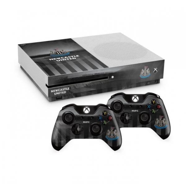 Official Newcastle United FC Xbox One S Console Skin and ... Official Xbox One Console