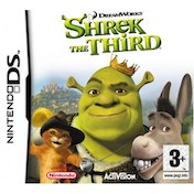 Ex-Display Shrek The Third Movie Game DS Used - Like New
