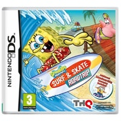 Ex-Display Spongebob Surf and Skate Game DS Used - Like New