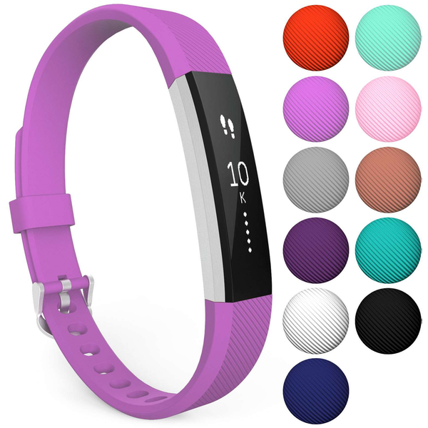 Yousave Activity Tracker Single Strap - Violet (Small)