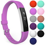 Yousave Fitbit Alta / Alta HR Strap Single Small - Violet