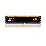 Team Elite 8GB Plus Black Heatsink (1 x 8GB) DDR4 2400MHz Black DIMM