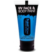 (5 Pack) PaintGlow UV Neon Face & Body Paint (Blue) 50ml
