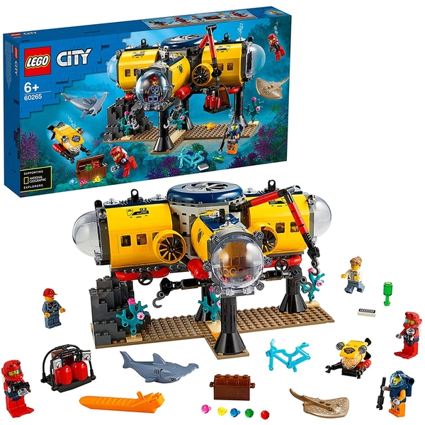 LEGO City: Ocean Exploration Base