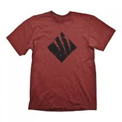 Gears Of War 4 Men's Swarm Icon Large Dark Red T-Shirt