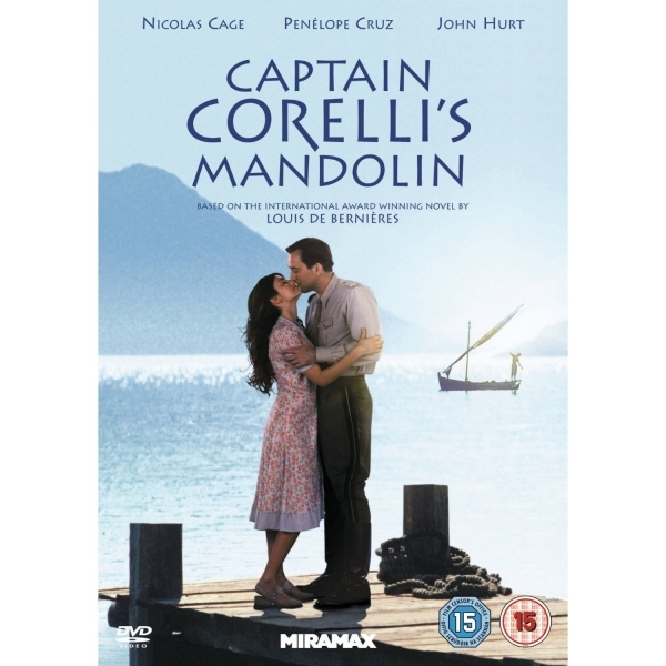Captain Corelli's Mandolin DVD
