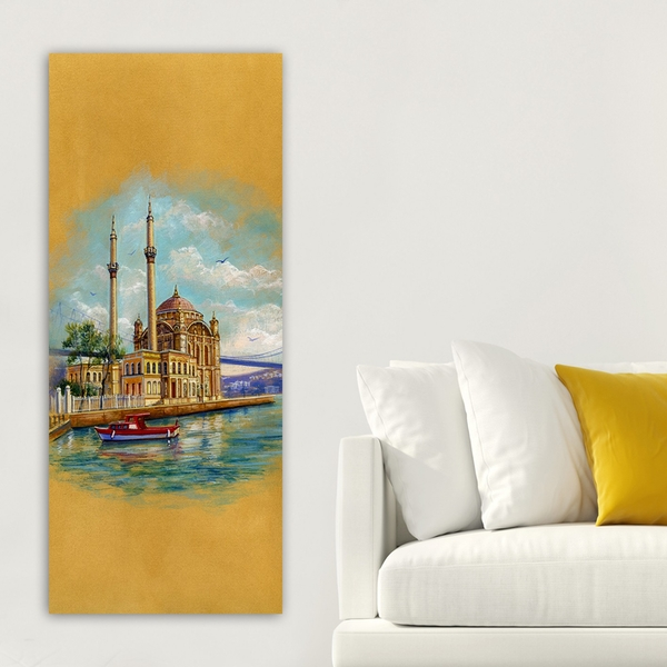 DKY1570329352_50120 Multicolor Decorative Canvas Painting