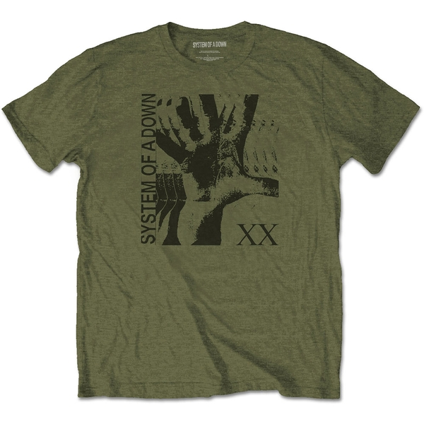 System Of A Down - Intoxicated Unisex XX-Large T-Shirt - Green