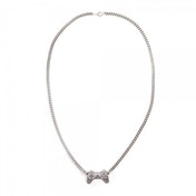 Sony Playstation Controller Silver Necklace