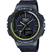 Casio BGS-100-1AER Baby-G Watch with Step Counter - Black