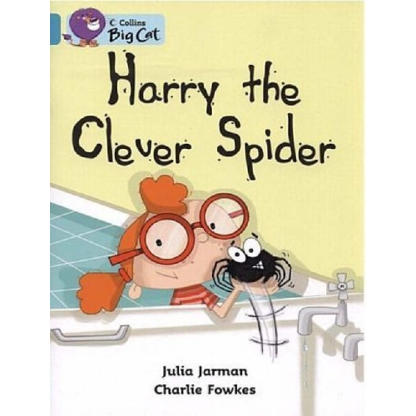 Harry the Clever Spider: Band 07/Turquoise (Collins Big Cat) by Julia Jarman (Paperback, 2005)