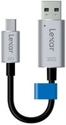 Lexar JumpDrive C20m 32GB 32GB USB 3.0 (3.1 Gen 1) Type-A/Type-C Black,Silver USB flash drive