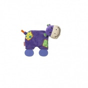 Nuby Plush Pal Cow with Teether Leg