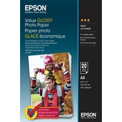 Epson Value Glossy Photo Paper - A4 - 20 sheets