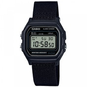 Casio Casual Digital Watch with Black Case & Black Cloth Strap