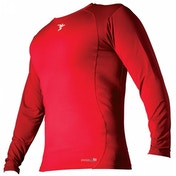 PT Base-Layer Long Sleeve Crew-Neck Shirt Medium Red