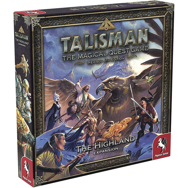 Talisman: The Highland Expansion Board Game