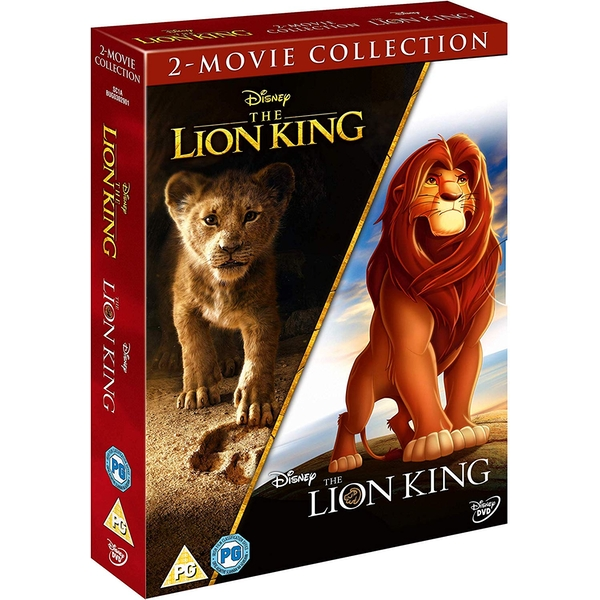 The Lion King - Live Action & Animation Doublepack Collection DVD