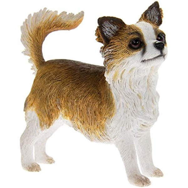 Longhaired Chihuahua Figurine By Lesser & Pavey