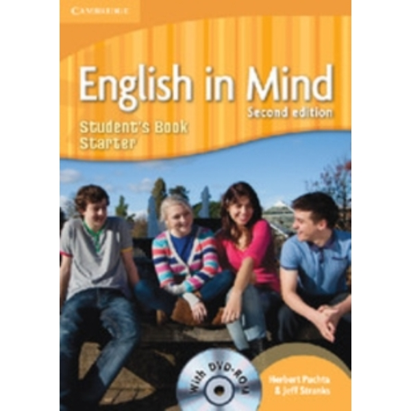 English in Mind Starter Level Student's Book with DVD-ROM by Jeff Stranks, Herbert Puchta (Mixed media product, 2010)