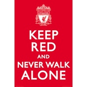 Liverpool Keep Red Maxi Poster