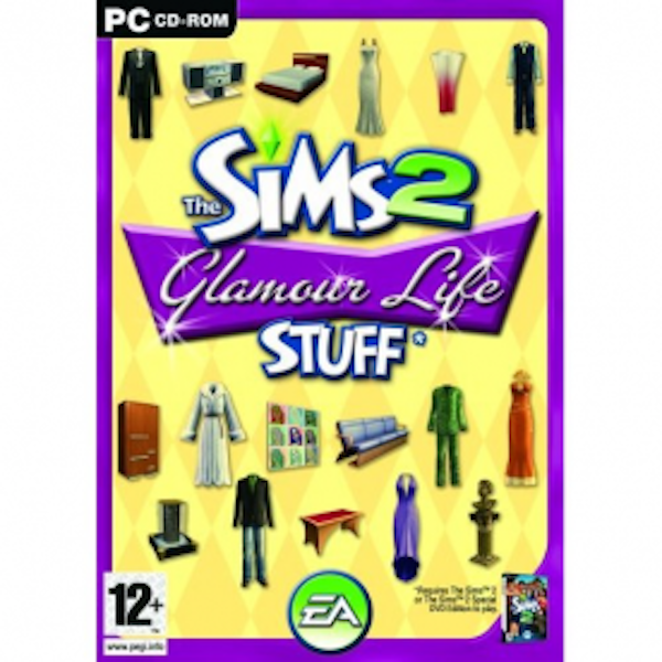 The Sims 2 Glamour Life Stuff Game PC
