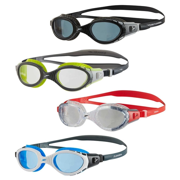 Speedo Futura Biofuse Flexiseal Goggles Black/Smoke Adult