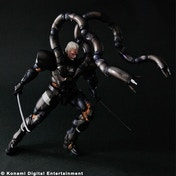 Ex-Display Metal Gear Solid 2 Sons of Liberty Play Arts Kai Solidus Snake Figure Used - Like New