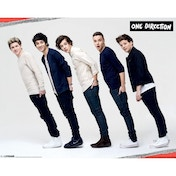 One Direction (line Torn) Mini Poster
