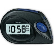 Casio Digital Beep Alarm Clock Black