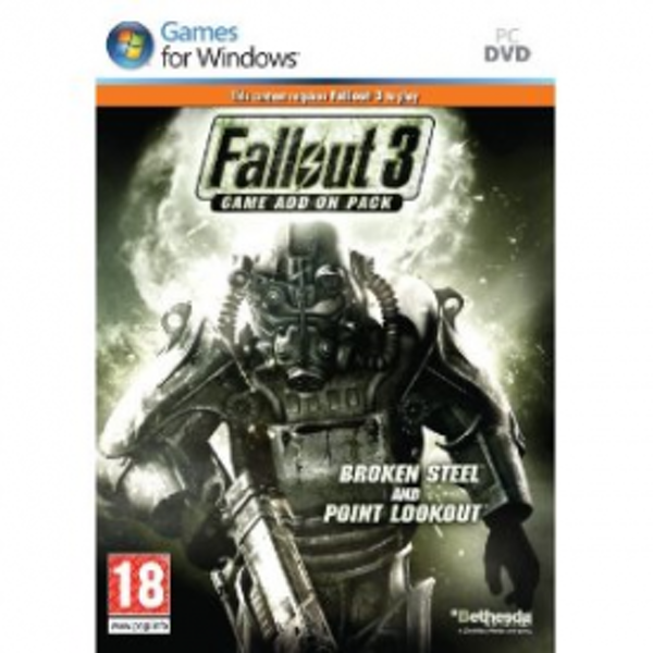 Fallout 3 Add-On Pack Broken Steel and Point Lookout Game PC