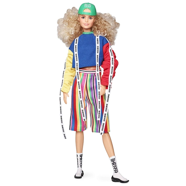 Barbie BMR1959 Collection Fashion Doll with Curly Blonde Hair