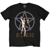 Rush Starman Glow Mens Black T Shirt: Large