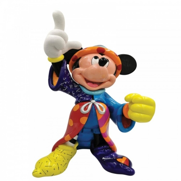 Scorcerer Mickey Mouse Disney Britto Statement Figurine