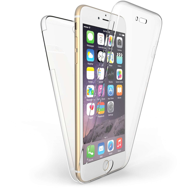Compare prices with Phone Retailers Comaprison to buy a Apple iPhone 6 Plus / 6S Plus Full Body 360 TPU Gel Case - Clear