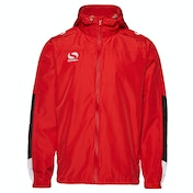Sondico Venata Rain Jacket Adult Medium Red/White/Black