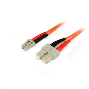 1m Multimode 50/125 Duplex Fiber Patch Cable LC - SC