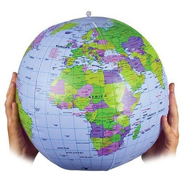 Tobar Inflatable Globe Toy