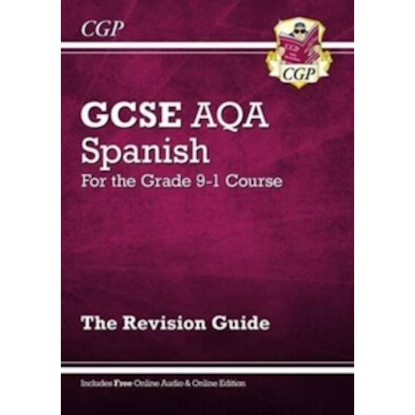 New GCSE Spanish AQA Revision Guide - For the Grade 9-1 Course (with Online Edition) by CGP Books (Paperback, 2016)