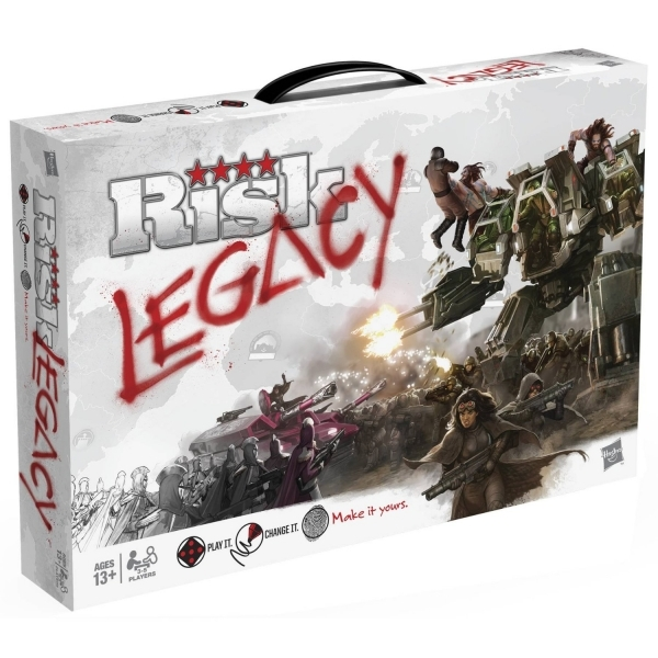 Risk Legacy Board Game - Image 1
