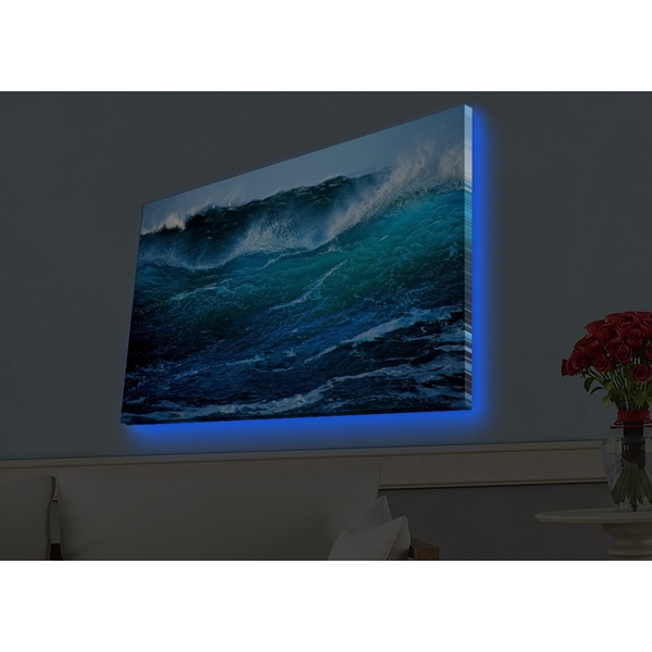 4570HDACT-016 Multicolor Decorative Led Lighted Canvas Painting