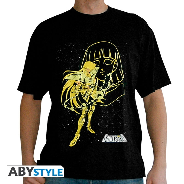 Saint Seiya - Virgo Shaka Men's Small T-Shirt - Black